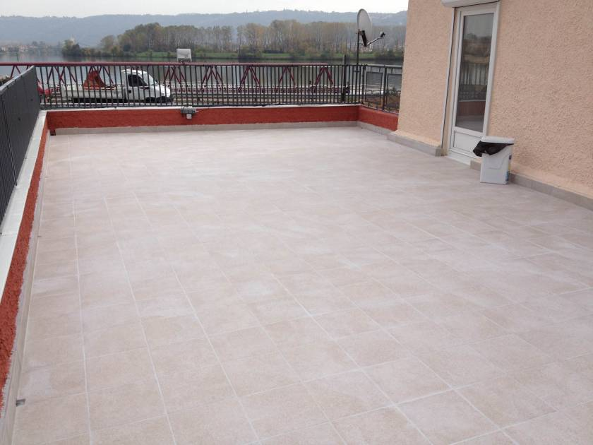 Great Carrelage Terrasse Extreure Carrelage De Terrasse With Pose Carrelage  Terrasse.